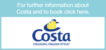 click here for information about costa cruises